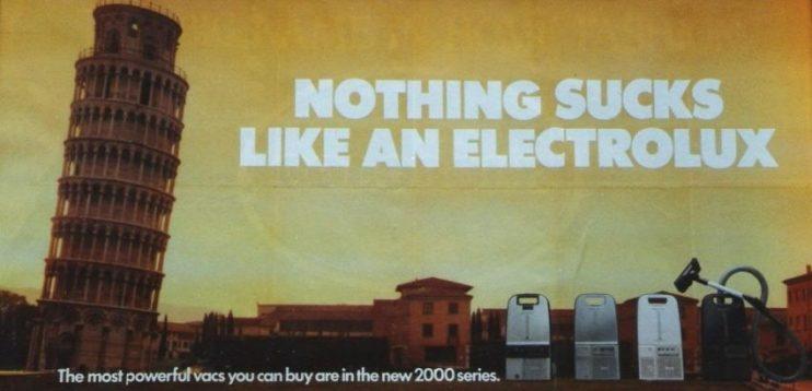 Nothing sucks Electrolux