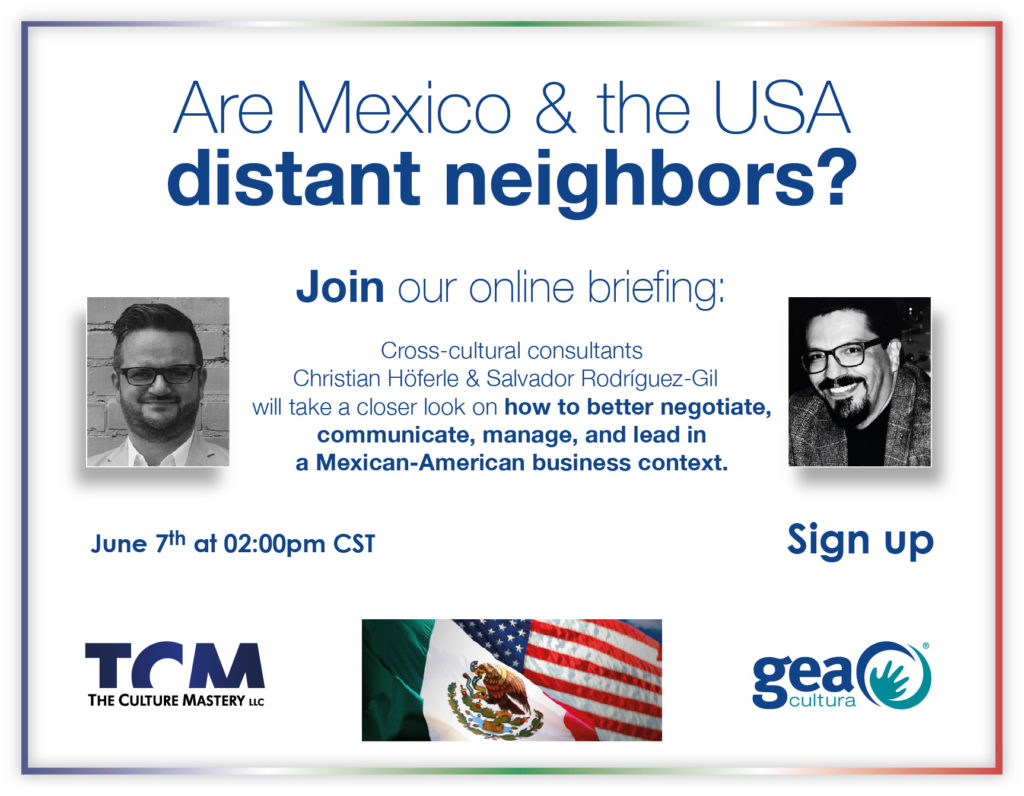 Mexico United States Webinar