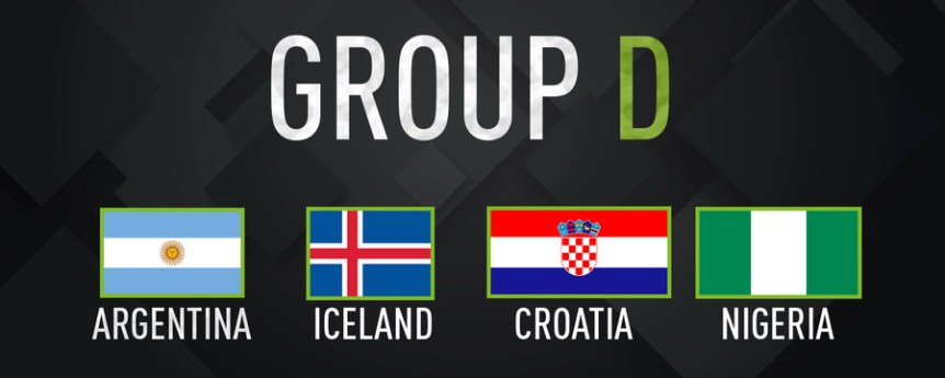 World Cup 2018 Group D