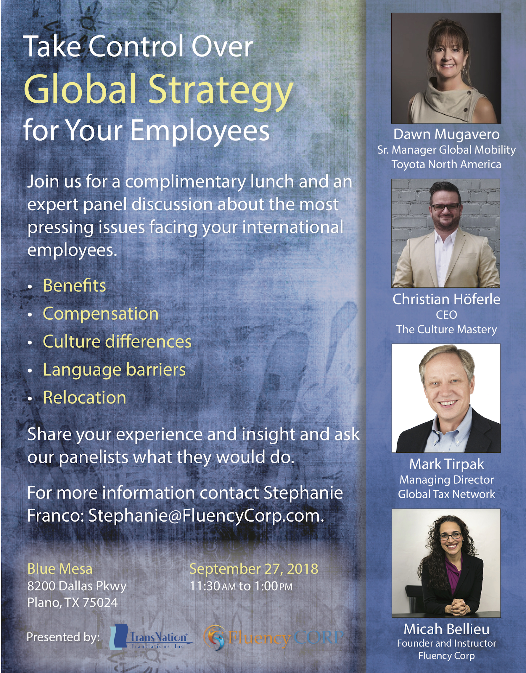 Global Strategy Luncheon
