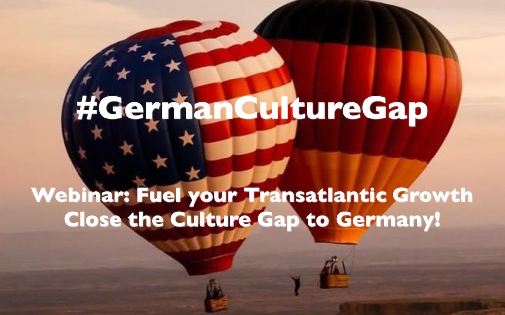 #GermanCultureGap webinar hot air balloons USA Germany
