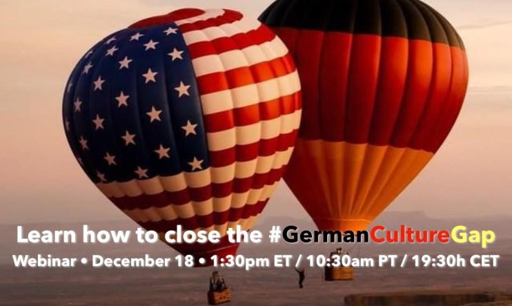 close #GermanCultureGap December