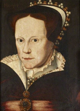 Queen Mary I r. 1553-1558