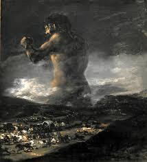 Goya, The Colossus, 1810-12