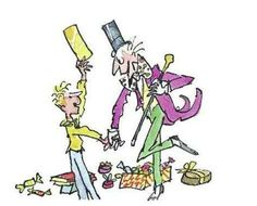 Quentin Blake's distinctive illustrations became synonymous with Dahl's work