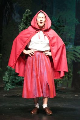 Millie Manning as Little Red Riding Hood