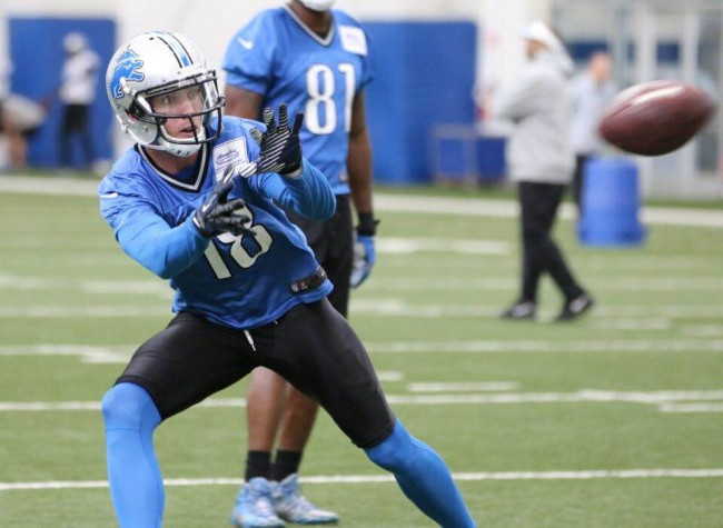 Ryan Spadola is currently on the Injured Reserve with the Detroit Lions   © Ryan Spadola