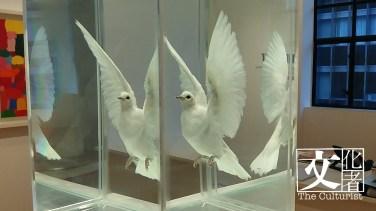 1999年創作的《白鴿》