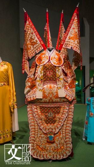 《戎馬金戈萬里情》之〈奏凱〉的戲服