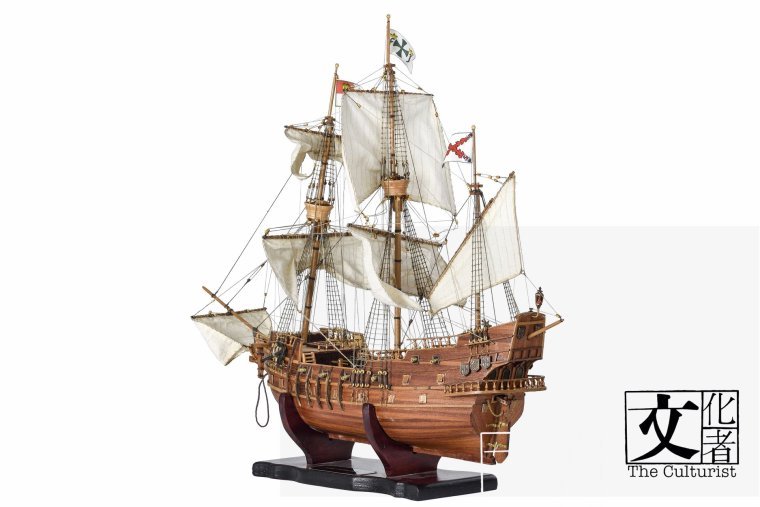 _馬尼拉帆船舊金山的船模