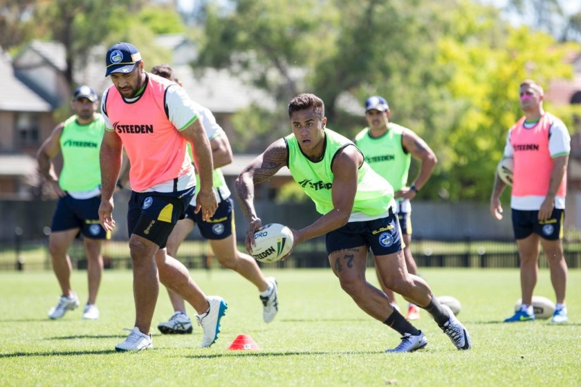 Eels Pre-Season Training – November 22 – All Aboard the Guthbus