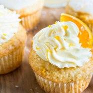 Pastelitos de Naranja y Crema de Coco