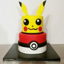 pokemon cake, pikachu cake, anime cakes,