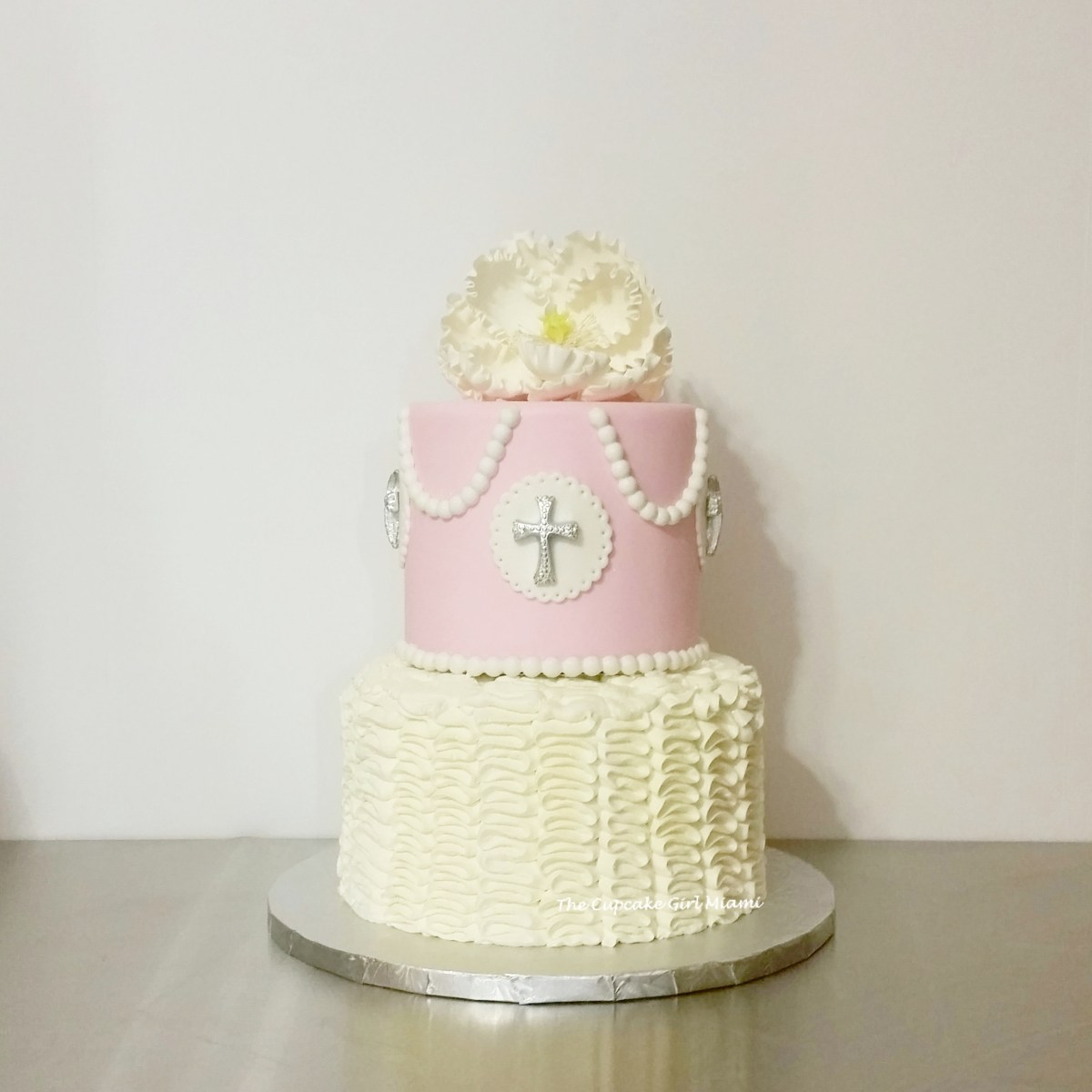Baptism cake, Miami