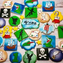 Peter pan cookies, pan cookies
