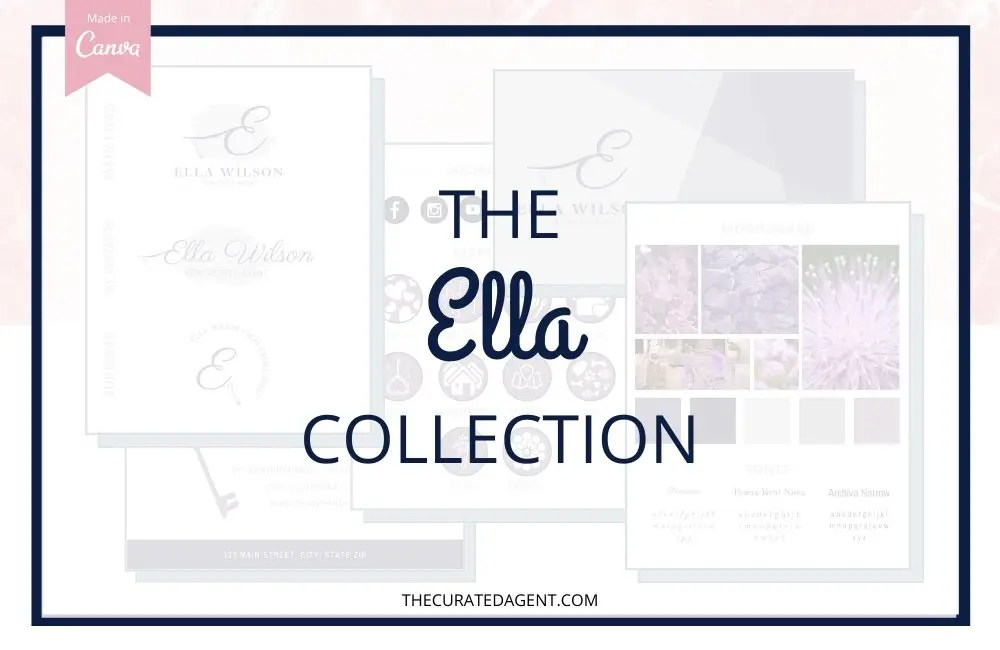 The Ella Collection - Real Estate Branding Bundle for Women