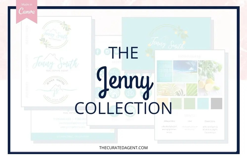 The Jenny Collection - Real Estate Branding Bundle for Women