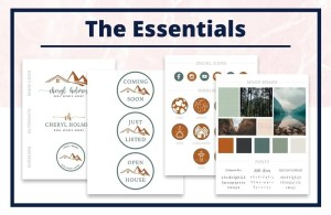 The Cheryl Collection - The Essentials - Real Estate Branding Bundle for Women
