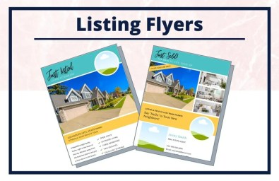 The Jenny Collection - Flyers - Real Estate Branding Bundle for Women