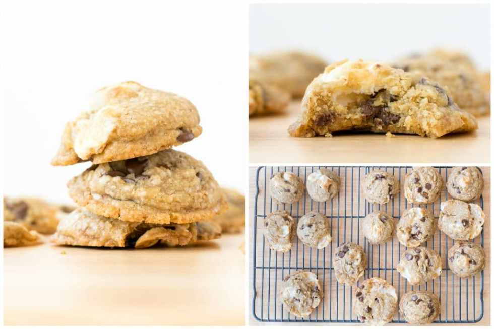 chocolate chip marshmallow cookies coconut oil variation