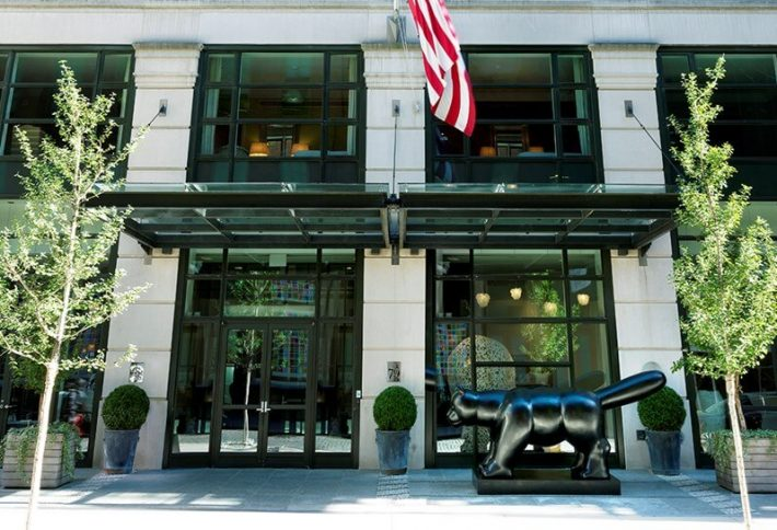 New York Manhattan Crosby Street Hotel Yellow Cab Cafe Gitane Katz's Deli