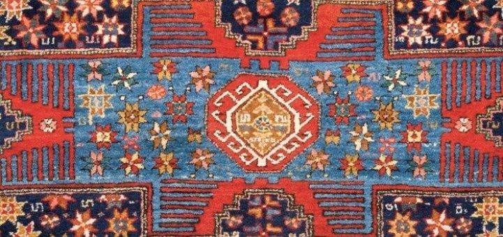 A Rare Elements Antique Oriental Rug
