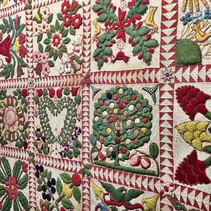 Winter Antiques Show Manhattan Quit Detail