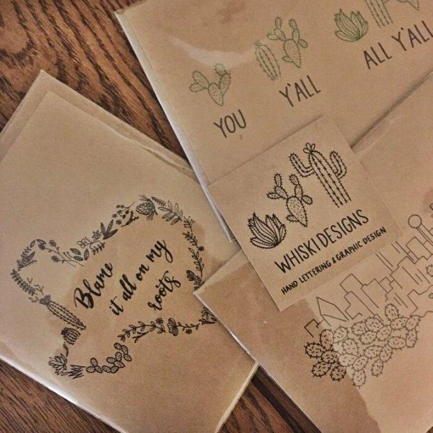 Texas Gear Whiski Designs Cards