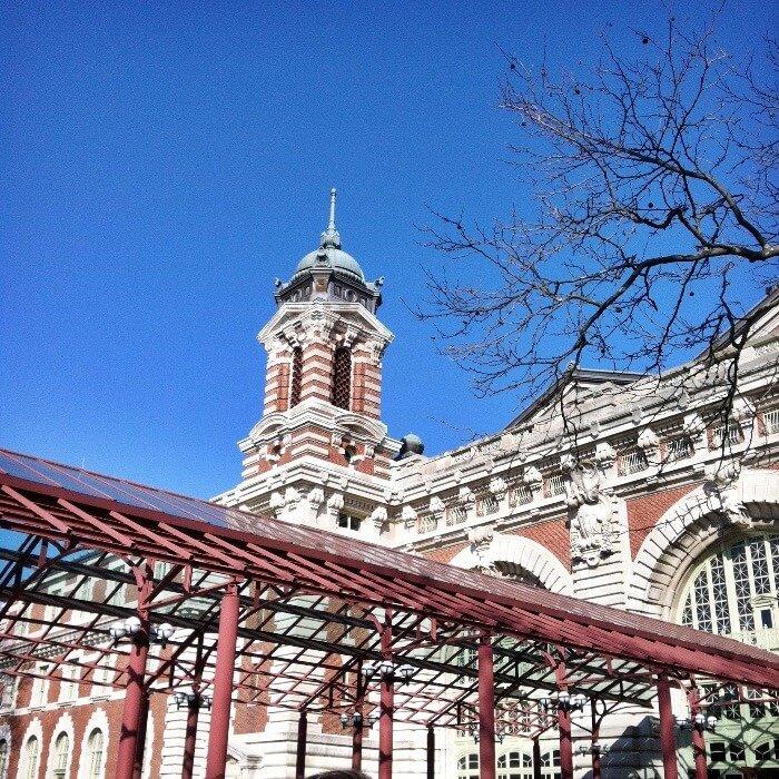 Ellis Island exterior