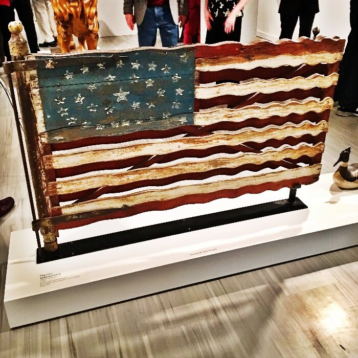 American Folk Art Museum Flag Gate