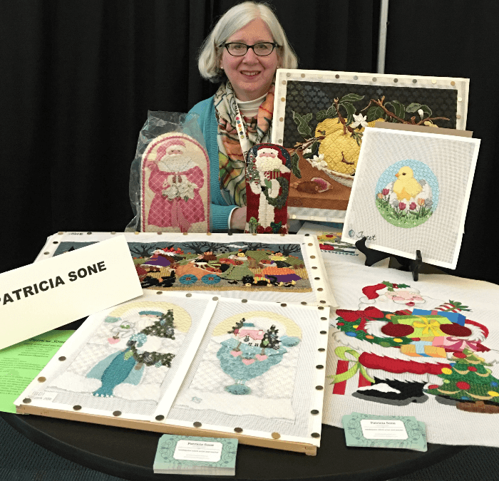 Patricia Sone:  Accomplished Needlepoint Artist and Teacher