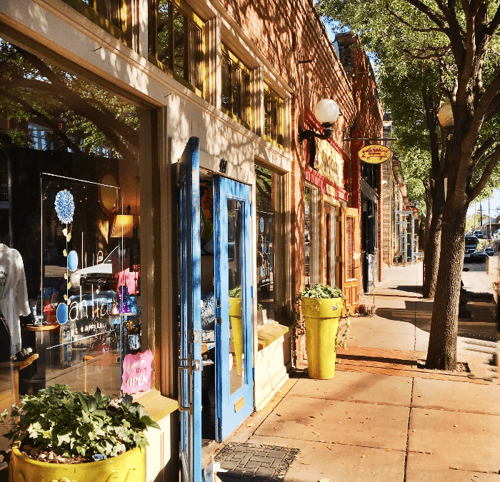 "Bishop Arts Dallas….A ""Shop Local Gem"""