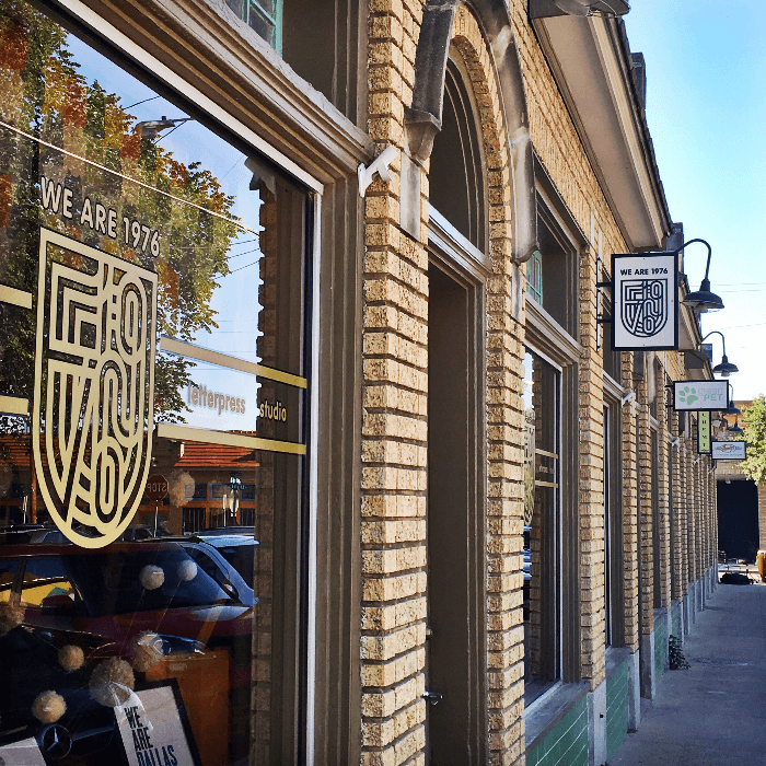 Old Store Fronts in Bishop Arts