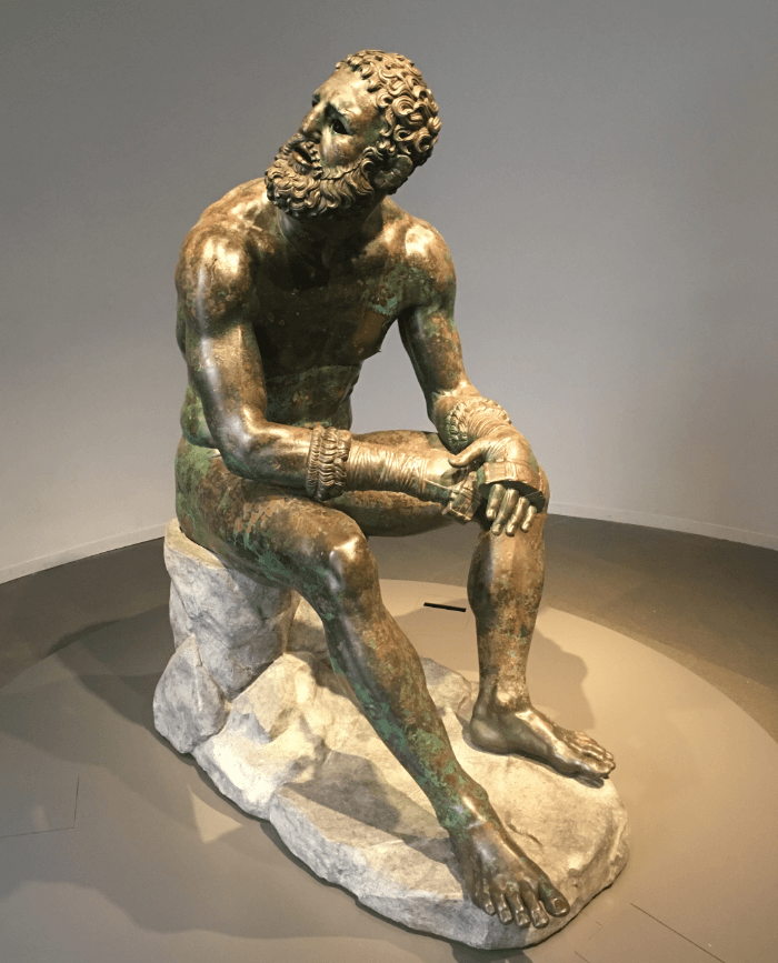 Palazzo Massimo's The Boxer at Rest
