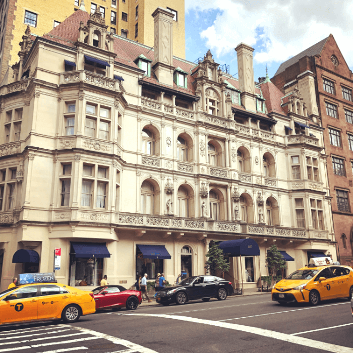 Exterior facade of the Ralph Lauren Store on Madison Avenue NYC