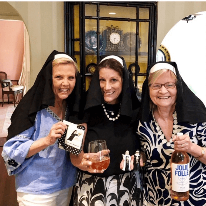 Sophistication is Overrated Susan and Babs and friend dressed as nuns