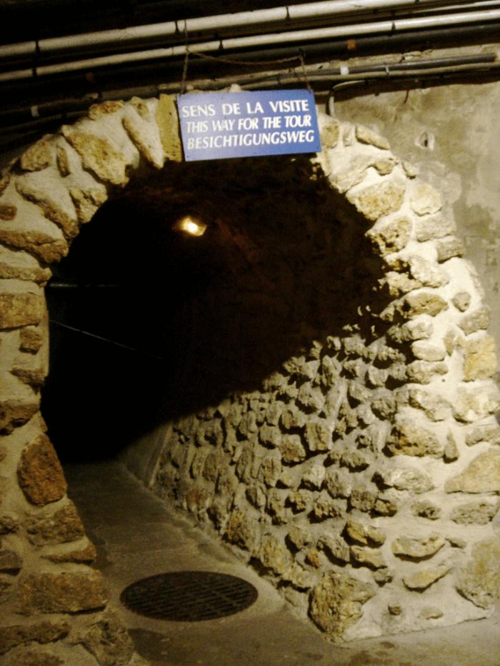 Les Miserables Location: The Paris Sewer