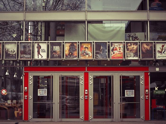 movie theater doors