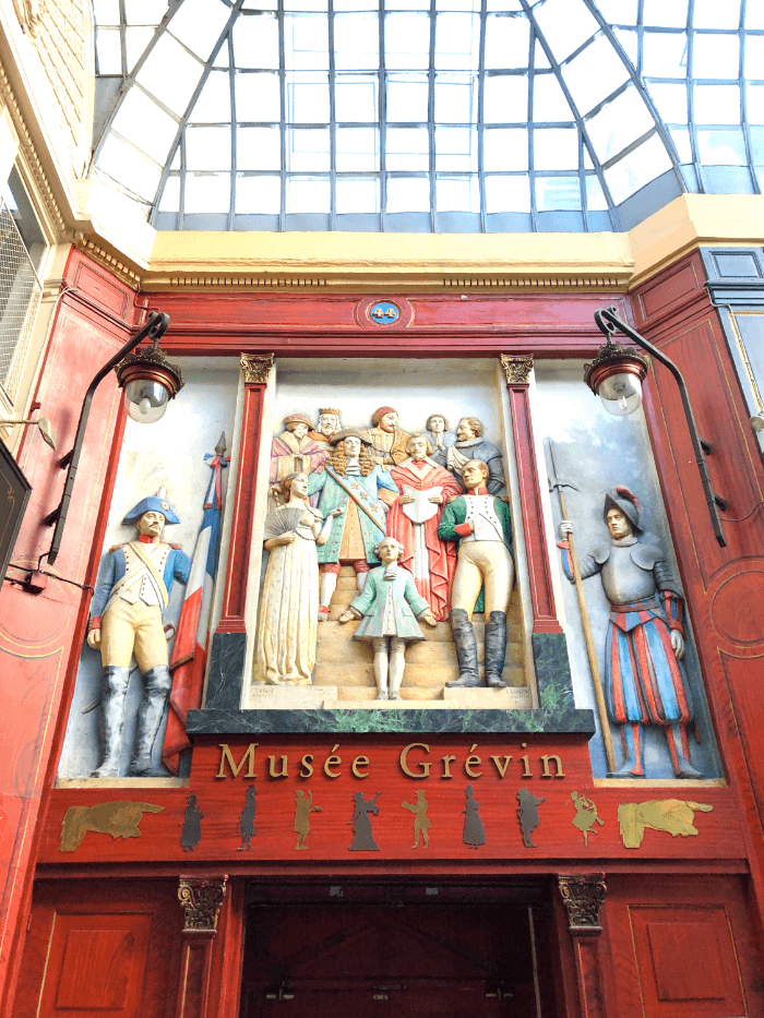 Wall Decoration at the Musee Grevin Wax Museum