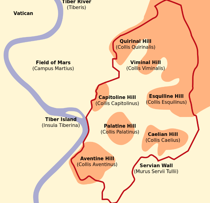 The 7 Hills of Ancient Rome: An Itinerary