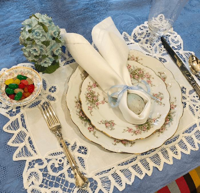 Set a Lovely Easter Dinner Table