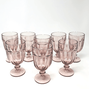 Pink Libbey Glasses