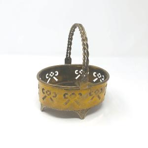 Small Brass Basket