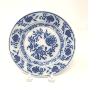 Blue Danube Onion Plate