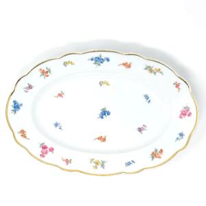 Blue Flowers Bavarian Platter