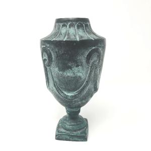 Bronze Urn Vase