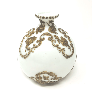 Gold Accent Bristol Vase