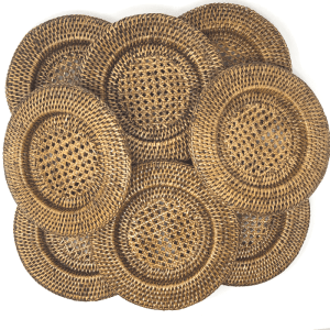 Wicker Plate Chargers