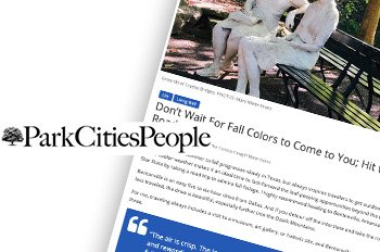 The Curious Cowgirl Park Cities People Article November 2020