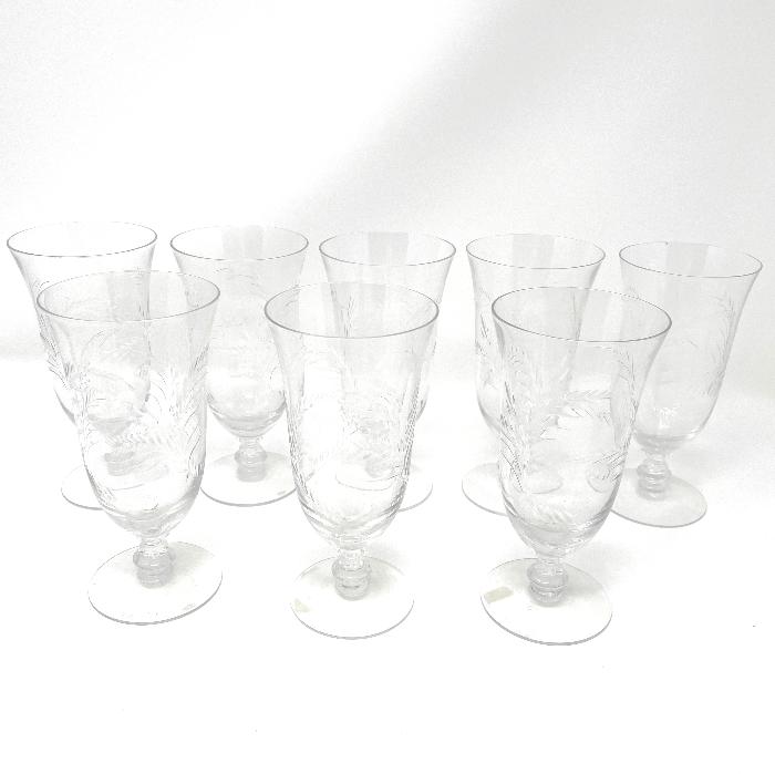 Extraordinary Crystal Goblets